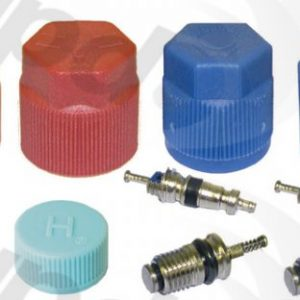 GPD 1311575 A/C System Valve Core and Cap Kit